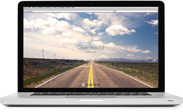 Screenshot CoverBox 1.0