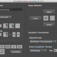 Screenshot Userinterface Script »setUpBaselineGrid.jsx«