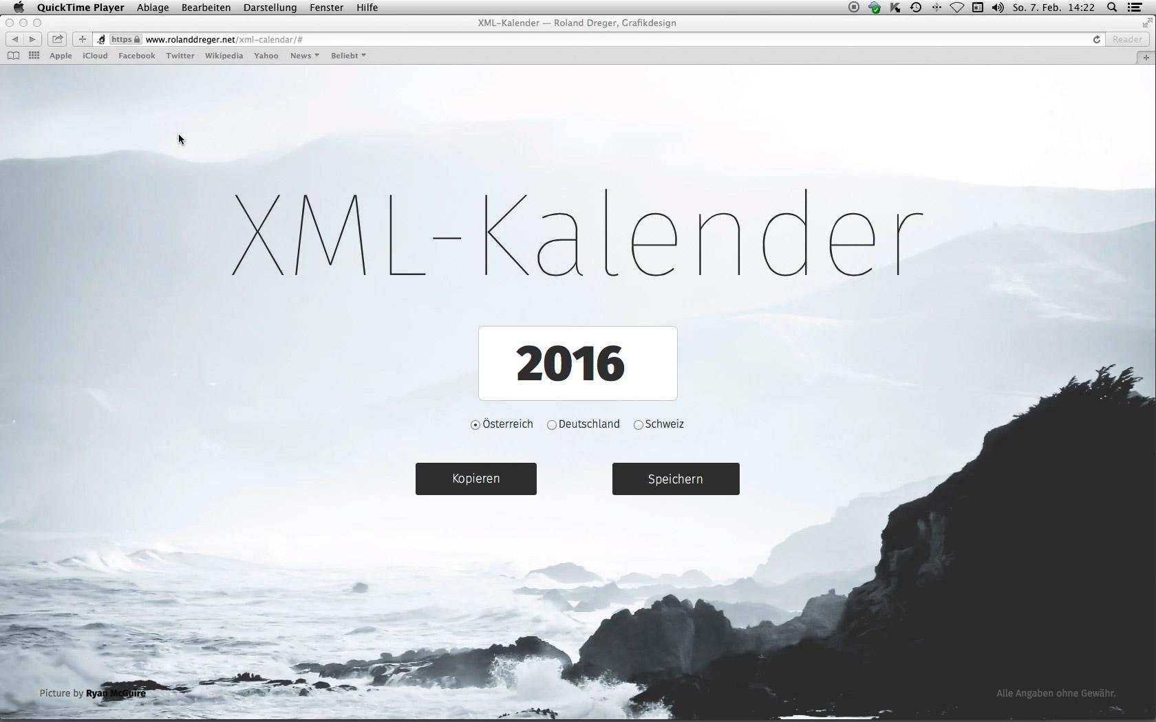 Kalender-Vorlagen für InDesign — Roland Dreger, Grafikdesign